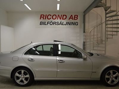 begagnad Mercedes 500 E BenzV8 AUT LGANC LÅGMIL 2003, Sedan 94 900 kr