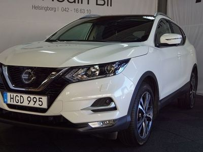 begagnad Nissan Qashqai 1.5 dCi Manuell N-Connecta Roof-Pack