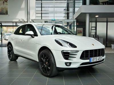 begagnad Porsche Macan S Diesel Nypris 782500.-