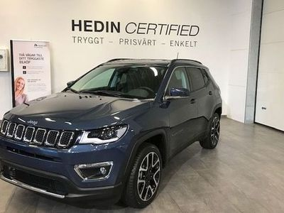 begagnad Jeep Compass Limited PHEV 1.3 GSE T4 190hp AT6 4xe 2020, SUV 467 400 kr