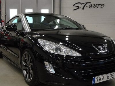 begagnad Peugeot RCZ 1,6 Turbo / Skinn, 200Hk, låga mil /