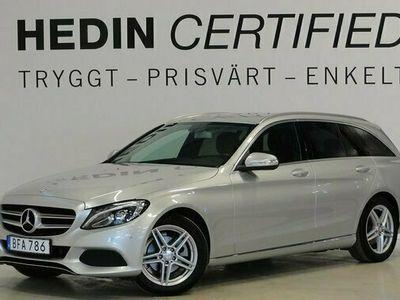begagnad Mercedes C180 C BenzAut-7G Navigation Drag SE-Edition 2015, Kombi Pris 219 900 kr