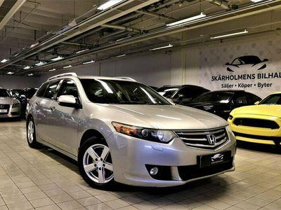 begagnad Honda Accord 2.2DTEC KOMBi AUTO USB AUX SVENSK 150HK DRAG
