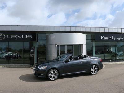 begagnad Lexus IS250 C Automat Comfort -09