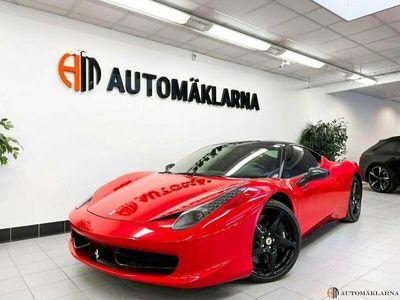 begagnad Ferrari 458 ITALIA MrCAP CERTIFIED