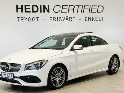 begagnad Mercedes 200 CLA BenzD 4MATIC AMG Sky, 2 Års Nybils 2019, Sportkupé 299 000 kr
