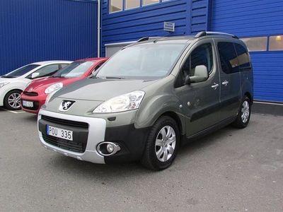 begagnad Peugeot Partner Tepee 1,6 HDI 110hk Outdoor 2010