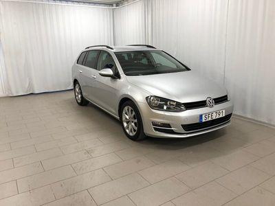 begagnad VW Golf Sportscombi 2,0 TDI 150 DSG