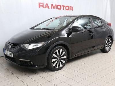 brugt Honda Civic 1,6 Diesel Sport Motorv/Nyservad