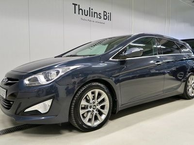 begagnad Hyundai i40 1,7 CRDi Premium Aut / Navi / Drag / 1 Ägare
