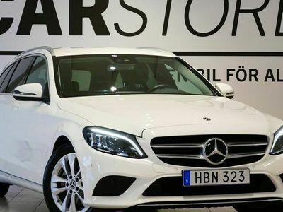 begagnad Mercedes C200 - Benzd Avantgarde Drag Navi