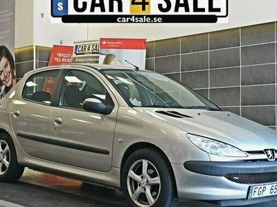 begagnad Peugeot 206 5-dörrar 1.4 X-Line 2005, Sedan Pris 15 000 kr
