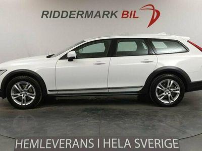 begagnad Volvo V90 CC D4 AWD 190hk D-värm VOC Drag Nyservad Euro 6