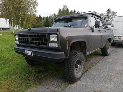 begagnad Chevrolet Silverado suburban