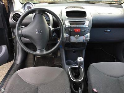 begagnad Peugeot 107 Nyservad, extrautrustad -07