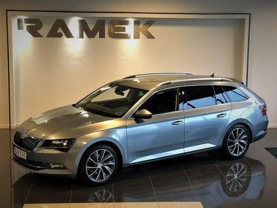 begagnad Skoda Superb 2.0 TDI DSG Laurin & Klement Eur