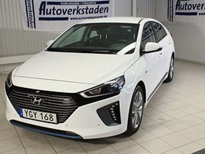 begagnad Hyundai Ioniq Hybrid 141hk Premium Eco