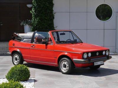 begagnad VW Golf Cabriolet karmann