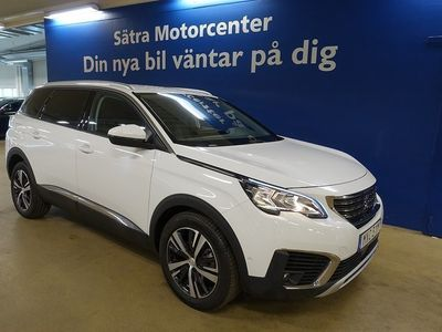 begagnad Peugeot 5008 Allure 1.2 PureTech EAT Euro 6 7-sits 130hk