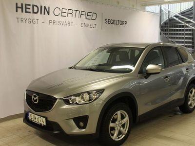 begagnad Mazda CX-5 2,2DE 175HK AUTOMAT AWD OPTIMUM S+V-HJUL DRAG
