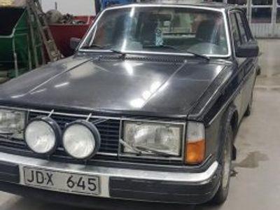 usado Volvo 240 skattebefriad -80