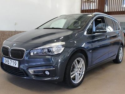 begagnad BMW 220 Gran Tourer D EU6 XDrive Luxury Line 7-sits 2017, Personbil 249 500 kr