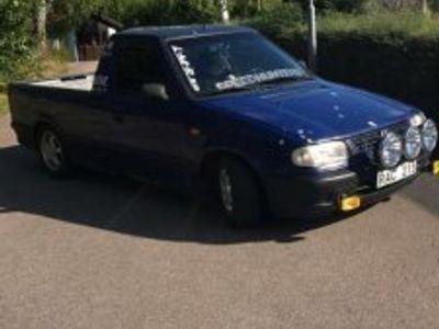 begagnad VW Caddy pickup 1.9D -00