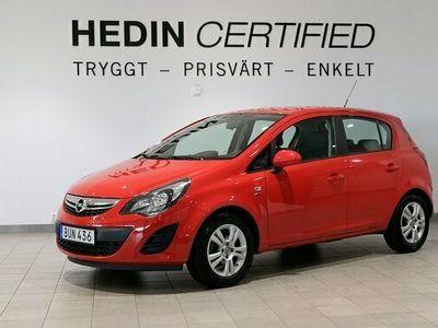 begagnad Opel Corsa 1.2 | Nyservad | Rattvärme | Aux | P - Sensor | 85hk