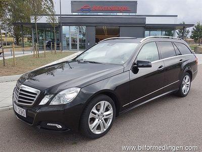 begagnad Mercedes E350 Avantgarde Bluefficiency 4Matic Dragkrok 272Hk Skinn Aut