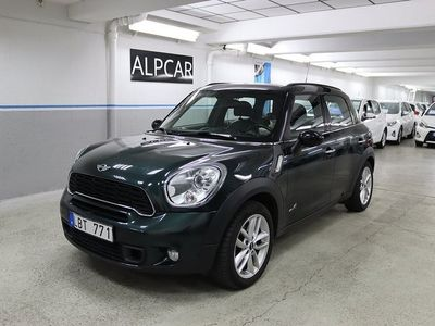 begagnad Mini Cooper S Countryman ALL4 COUNTRY GPS 184hk