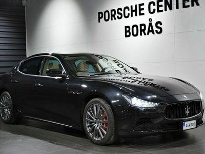 begagnad Maserati Ghibli S Q4 410hk