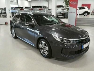 begagnad Kia Optima Hybrid Sport Wagon Plug-in Plus paket 2 205hk