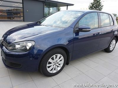 begagnad VW Golf VI 1.6 TDI BlueMotion Technology 5dr 105hk Style Svensksåld