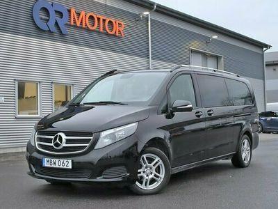 begagnad Mercedes V220 d Plus Skinn 8-Sits 163hk Leasbar