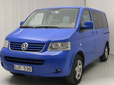 begagnad VW Multivan T5 2.5 TDI 4-motion