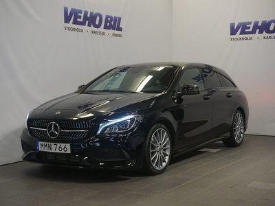 begagnad Mercedes CLA200 Shooting Brake AMG Backkamera Värmare Aut Drag