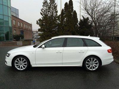 begagnad Audi A4 Avant 2.0TDI Aut S-Line Värmare Drag -14