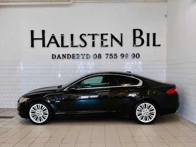 begagnad Jaguar XF 3.0 V6 241Hk Aut   Skinn   Svensksåld
