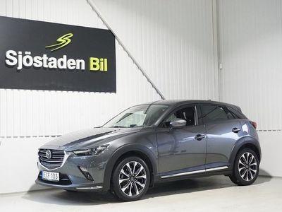 begagnad Mazda CX-3 2.0 AUT Optimum NAV Keyless Eu6 121hk