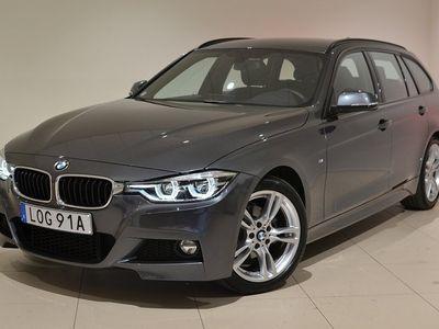 begagnad BMW 320 i M Sport, Drag, Navigator,