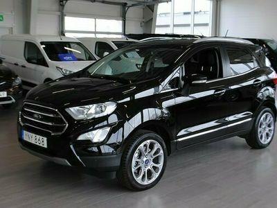 begagnad Ford Ecosport Titanium Design 1.0T EcoBoost 140hk *Drag/V-hjul*