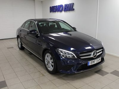 begagnad Mercedes C220 d Sedan Avantgarde Drag A -19