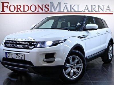 gebraucht Land Rover Range Rover evoque 2.2 SD4 AWD AUT 1-ÅRS GARANTI