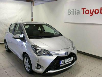 begagnad Toyota Yaris Hybrid 1.5 Active GPS Vinterhjul 2017, Halvkombi Pris 139 000 kr
