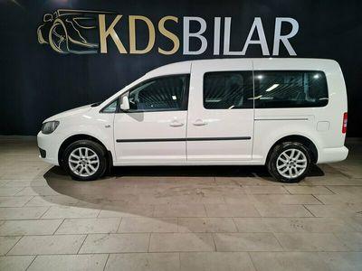 begagnad VW Caddy Maxi Life 1.6 TDI 7-sits 102hk Drag