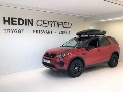 begagnad Land Rover Discovery Sport 2.0 TD4 4WD 150hk Luxury Edition