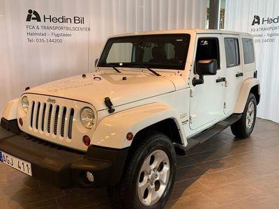 begagnad Jeep Wrangler Unlimited Sahara 2,8 4WD