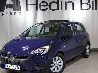 begagnad Opel Corsa Enjoy 5-Dörr 1,4 90Hk Panoramatak