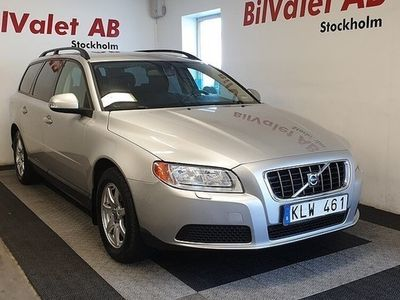 used Volvo V70 2.0 Flexifuel Kinetic 145hk Nybes
