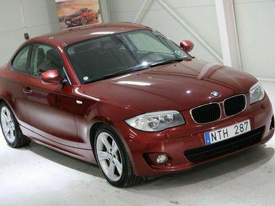 begagnad BMW 120 Coupé D Advantage Lågmil Automat 2011, Sportkupé 124 900 kr